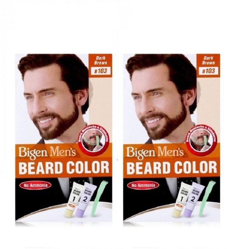 Bigen Beard Colour Dark Brown 103 Hair Color(Dark Brown)
