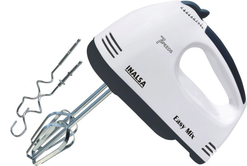 Inalsa Easy Mix Mixer 200 W Hand Blender(White)