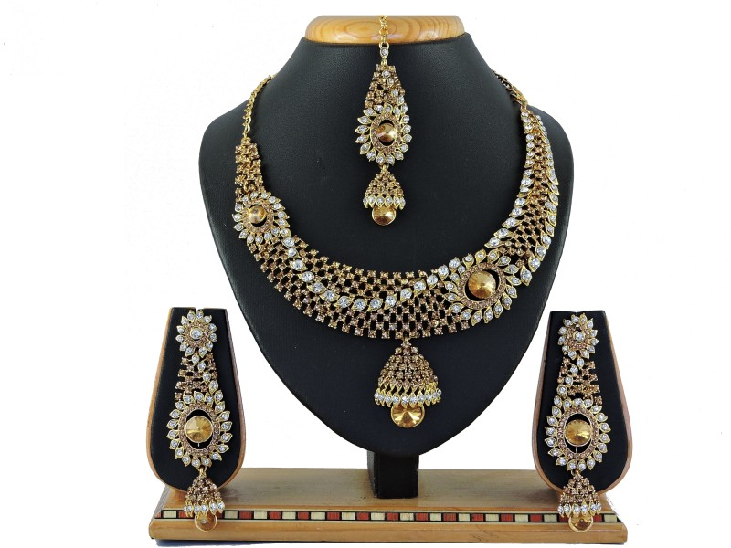 Vatsalya Creation Alloy Jewel Set(Multicolor)