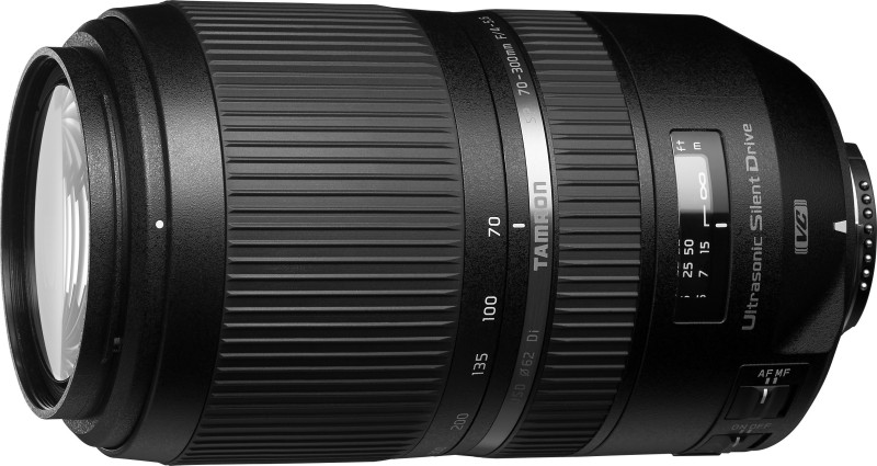 Tamron A030N Lens for Nikon AF Mount(Black, 55-300)