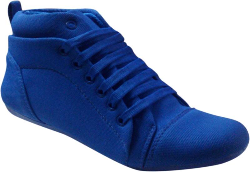 affron Canvas Shoes For Women(Blue)