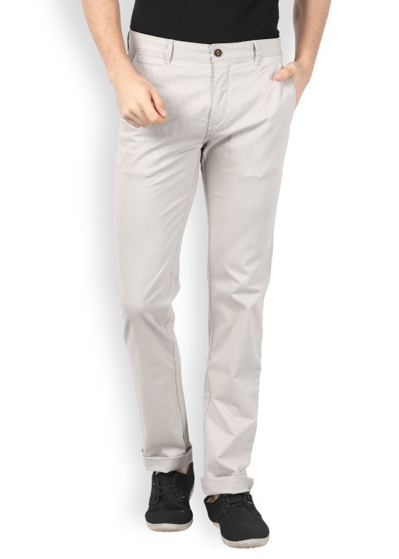 Arrow Sport Slim Fit Men's Beige Trousers