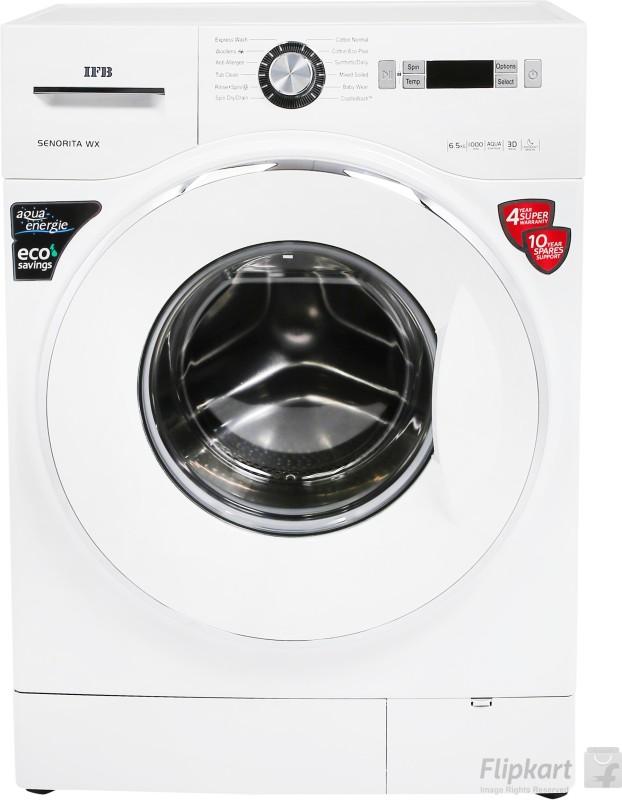 IFB 6.5 kg Fully Automatic Front Load Washing Machine White(Senorita WX)