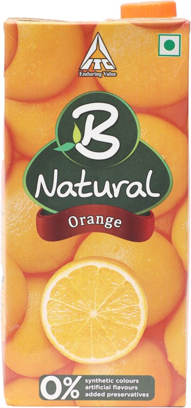B Natural Orange - Juice 1 L