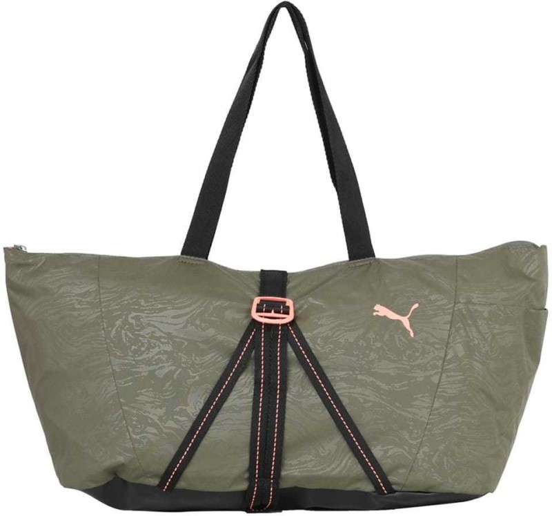 Puma Fit AT Sports Bag Gym Bag(Green)