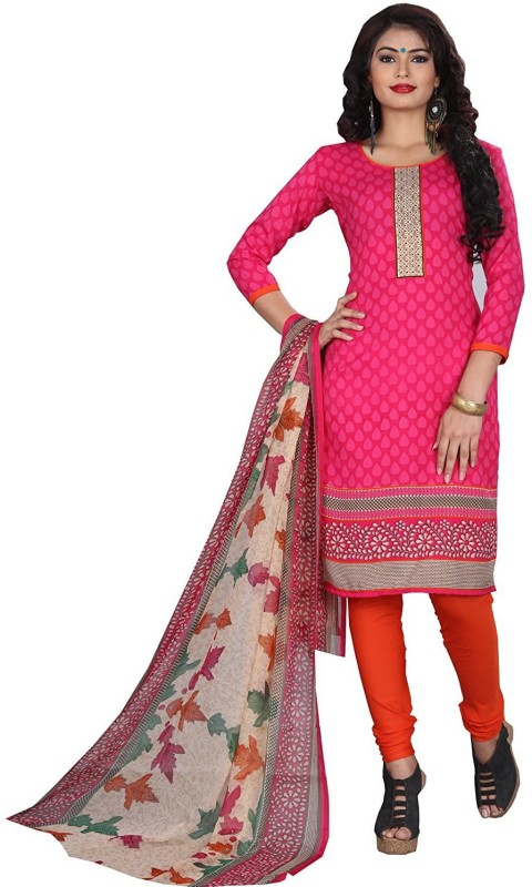 Women Latest Fancy Designer Salwar Suit Crepe Printed Salwar Suit Material(Un-stitched)