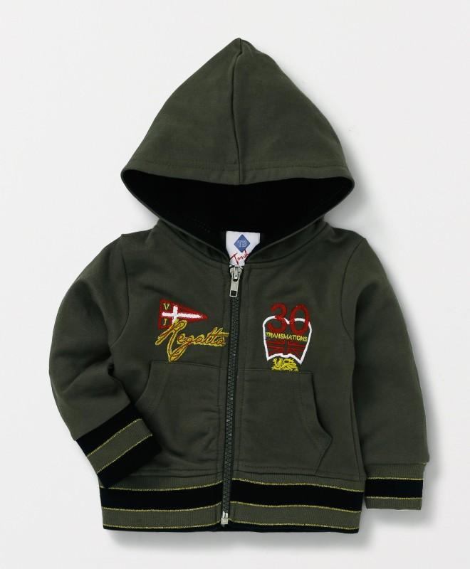 Tonyboy Full Sleeve Embroidered Baby Boys & Baby Girls Jacket