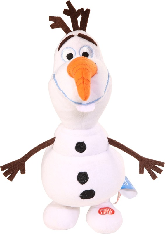 "Simba 9"" Walking Olaf w/walking & Singing Song(White)"
