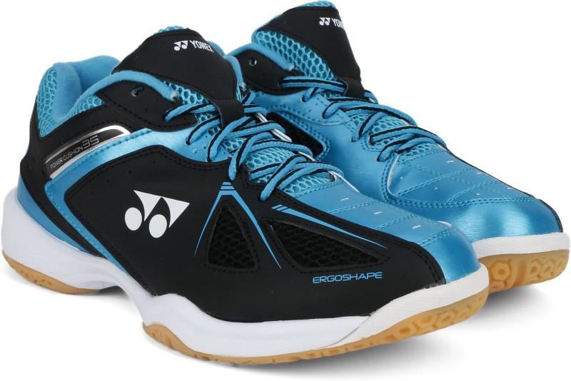 Yonex SHB35EX Badminton Shoes For Men(Black, Blue)