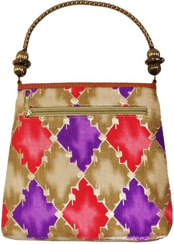 Muren Multicolor Hand-held Bag