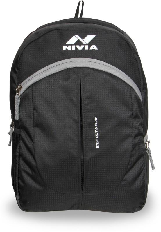 Nivia Team Training 17 L Backpack(Black, Grey)