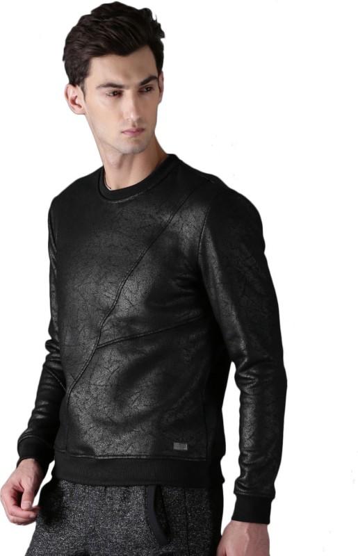 WROGN Full Sleeve Solid Men Sweatshirt