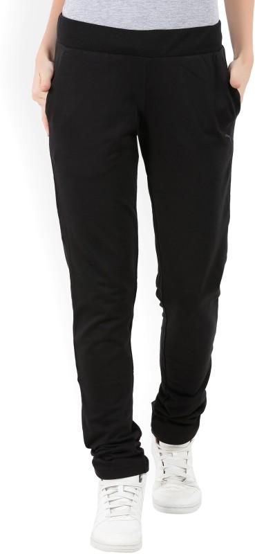 Puma Almira Solid Women's Black Track Pants