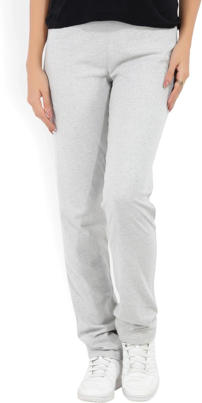 Puma Almira Solid Women's Grey Track Pants