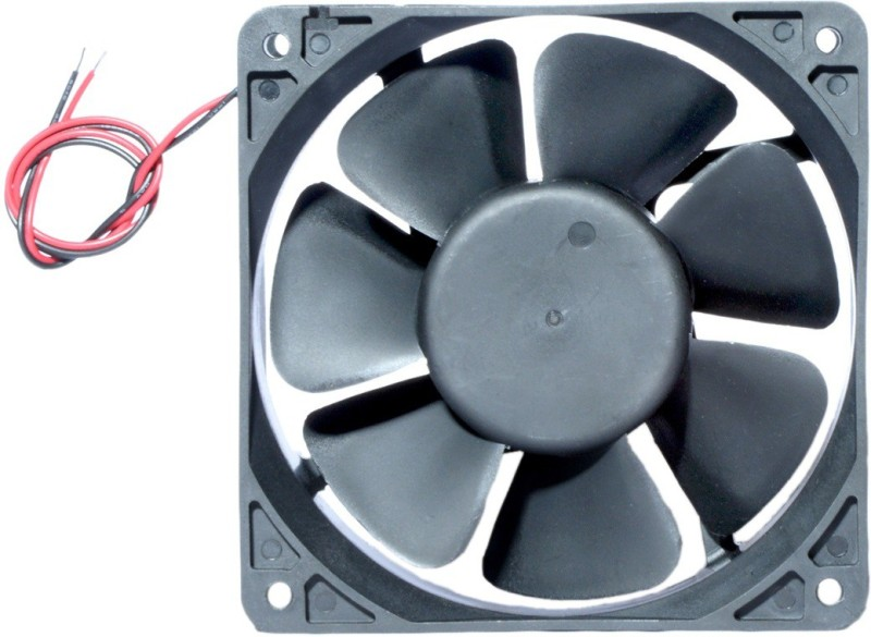 MAA-KU 4 inch/12 cm/120 mm 12 volt dc fan Cooler(Black)