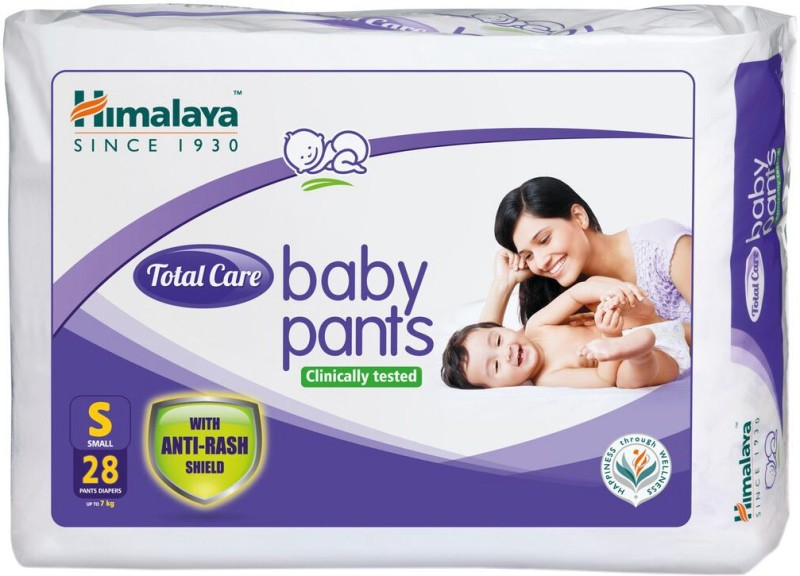 Himalaya Total Care Baby Pants - S(28 Pieces)