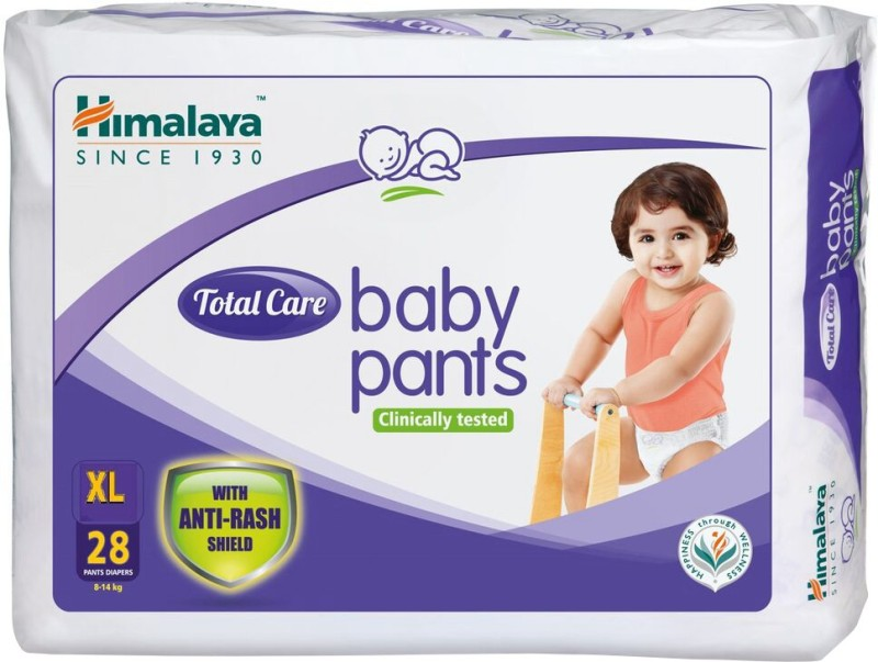 Himalaya Total Care Baby Pants - XL(28 Pieces)