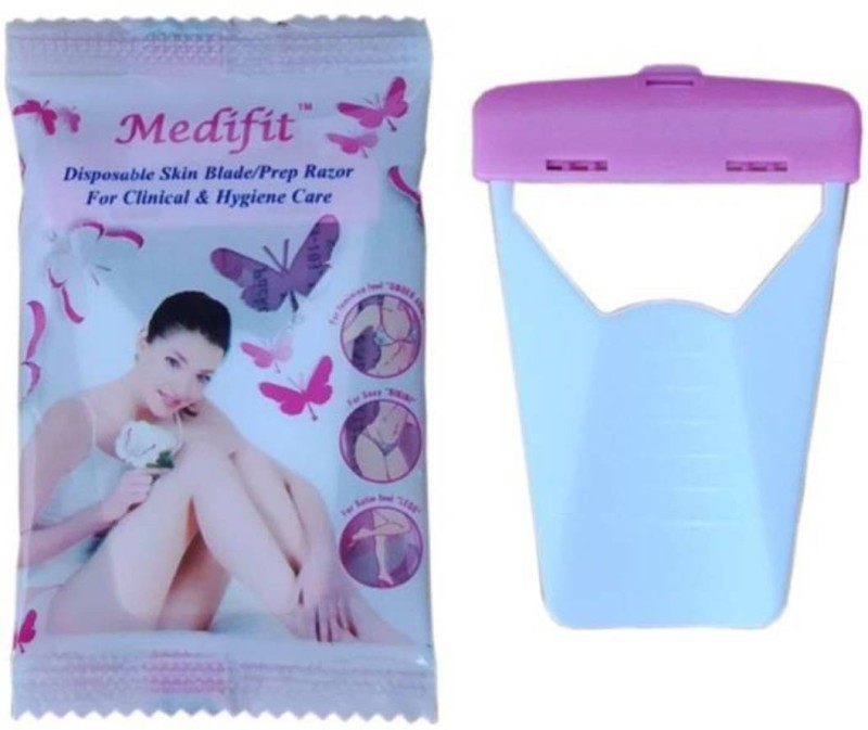 MEDIFIT MEDI PINK POUCH Disposable Razor(Pack of 25)