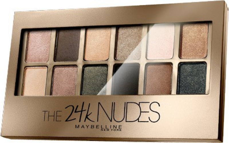 Maybelline The 24K Nudes 9 g(Gold)