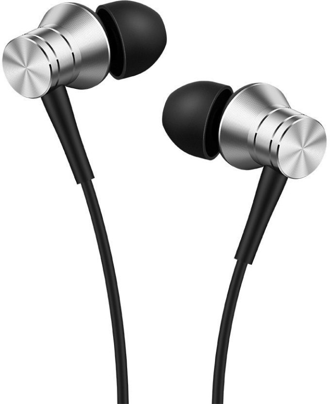 1More Piston Fit Earphones with MIC Wired Headset with Mic(Silver,...