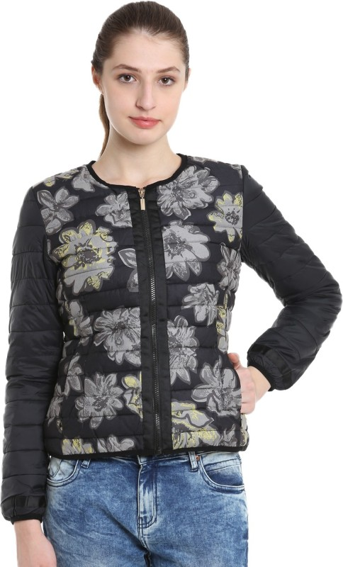 United Colors of Benetton Full Sleeve Printed Womens Jacket
