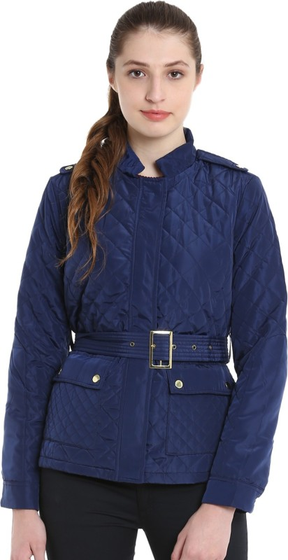 United Colors of Benetton Full Sleeve Solid Womens Jacket