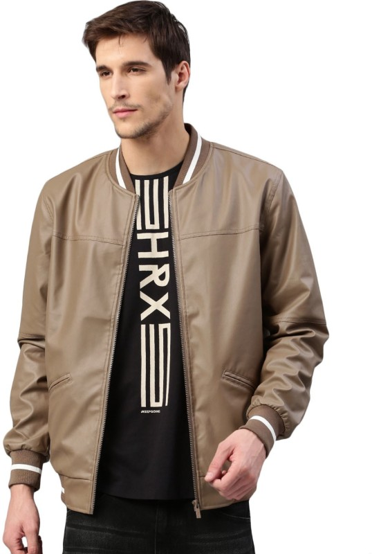 HRX by Hrithik Roshan Full Sleeve Solid Men Jacket