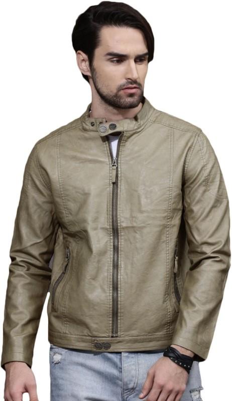 Roadster Full Sleeve Solid Men Jacket