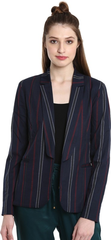 United Colors of Benetton Full Sleeve Striped Womens Jacket