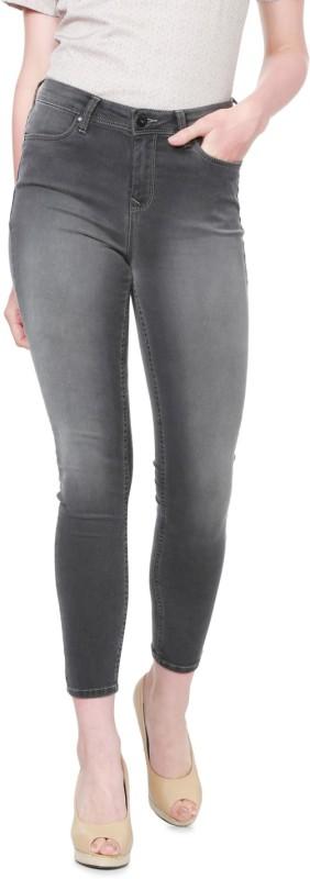 Allen Solly Slim Women Grey Jeans