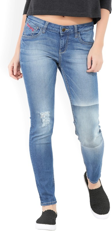 Flying Machine Slim Women's Blue Jeans