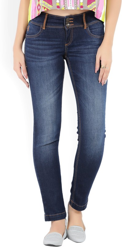 Flying Machine Slim Women's Blue Jeans