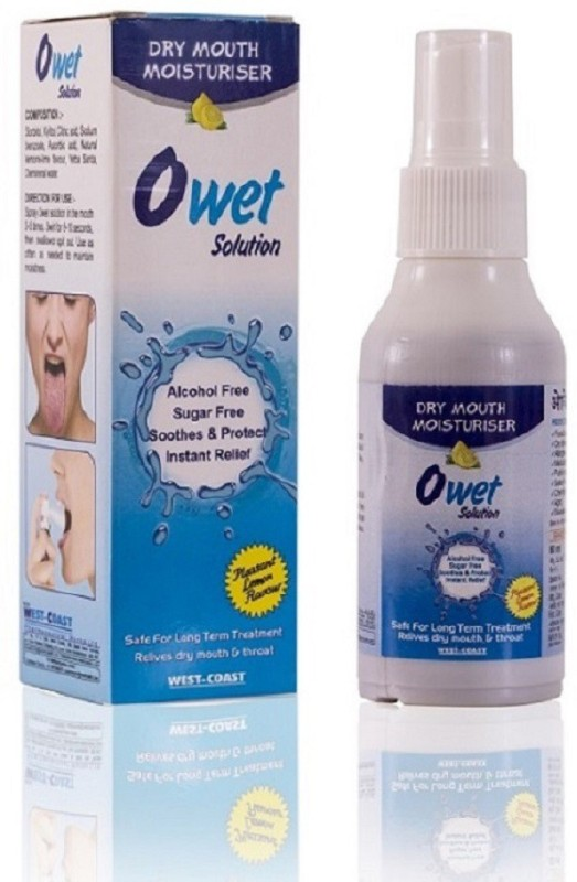 West Coast Owet Solution 60ml Relieves Dry Mouth & Throat -Pack of 2 - mouthwash(60 ml)