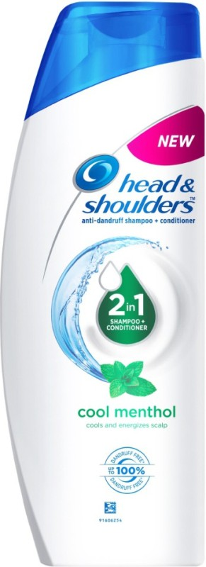 Head & Shoulders Cool Menthol 2-in-1 Shampoo + Conditioner(360 ml)