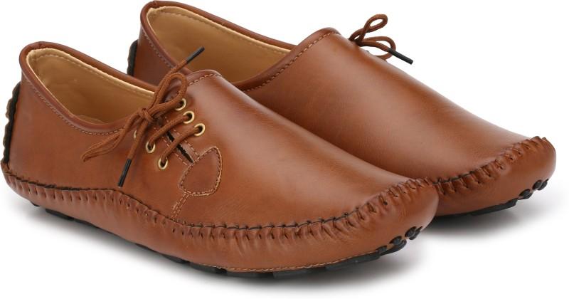 Andrew Scott Classic Comfort Loafers For Men(Tan)