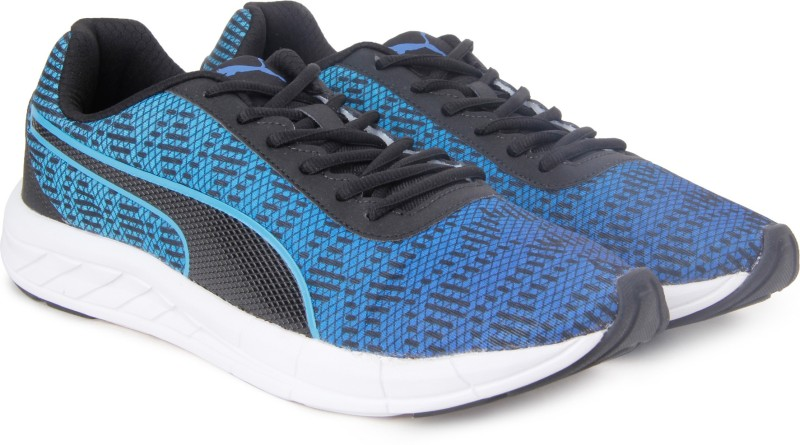 Puma Meteor 2 Running Shoes For Men(Black, Blue)