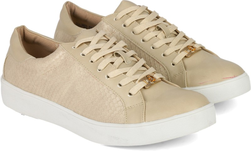 Carlton London CLL-3925 Casuals For Women(Beige)