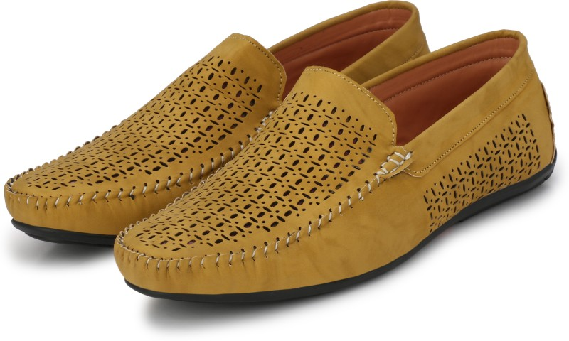 Andrew Scott Classic Comfort Loafers For Men(Tan)