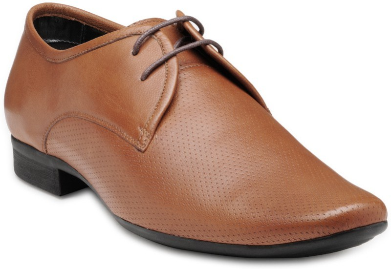 FRANCO LEONE 15041 Derby For Men(Brown)