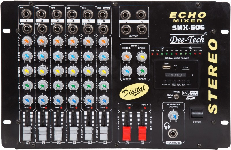 Dee tech SMX-606 Digital Sound Mixer