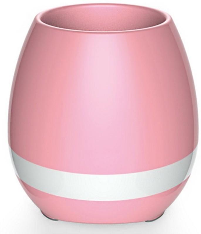VibeX ® Smart Touch Music Singing Flowerpot, MAYBEST Night Light Rechargeable Wireless Speaker Lamp 15 W Bluetooth Speaker(Multicolor, Mono Channel)