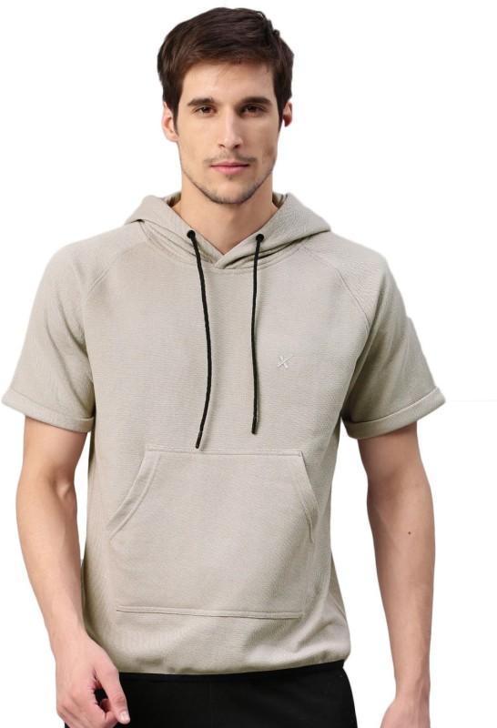 HRX by Hrithik Roshan Half Sleeve Self Design Men Sweatshirt