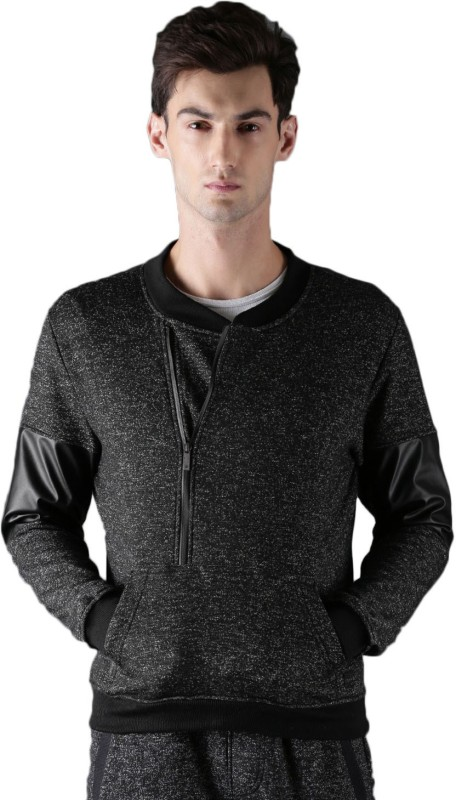 WROGN Full Sleeve Solid Men Sweatshirt