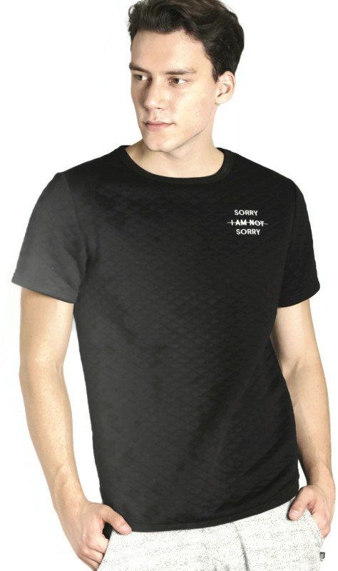 Kook N Keech Half Sleeve Solid Men Sweatshirt
