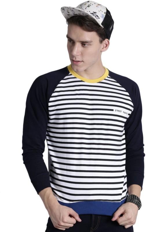 Kook N Keech Full Sleeve Striped Men Sweatshirt