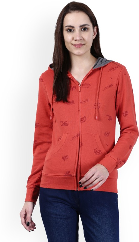 Wrangler Full Sleeve Printed Women Sweatshirt
