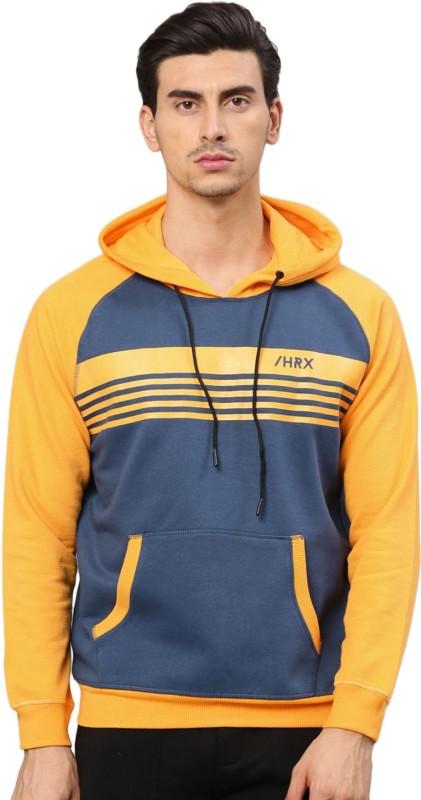 HRX by Hrithik Roshan Full Sleeve Striped Men Sweatshirt