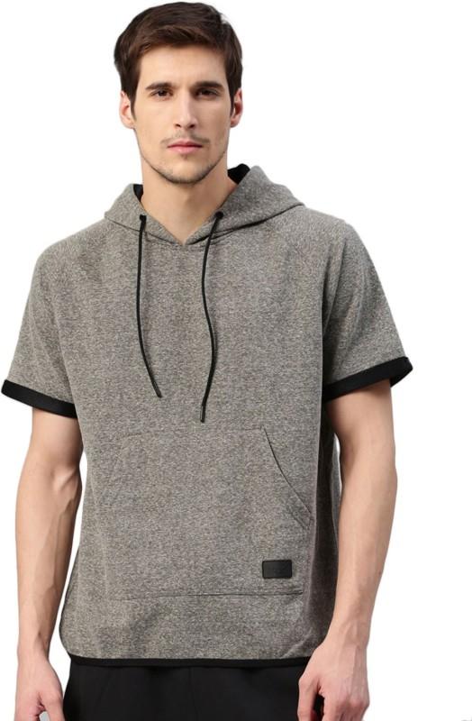 HRX by Hrithik Roshan Half Sleeve Solid Men Sweatshirt