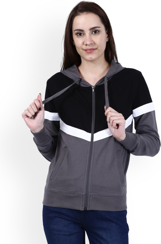 Wrangler Full Sleeve Solid Women Sweatshirt