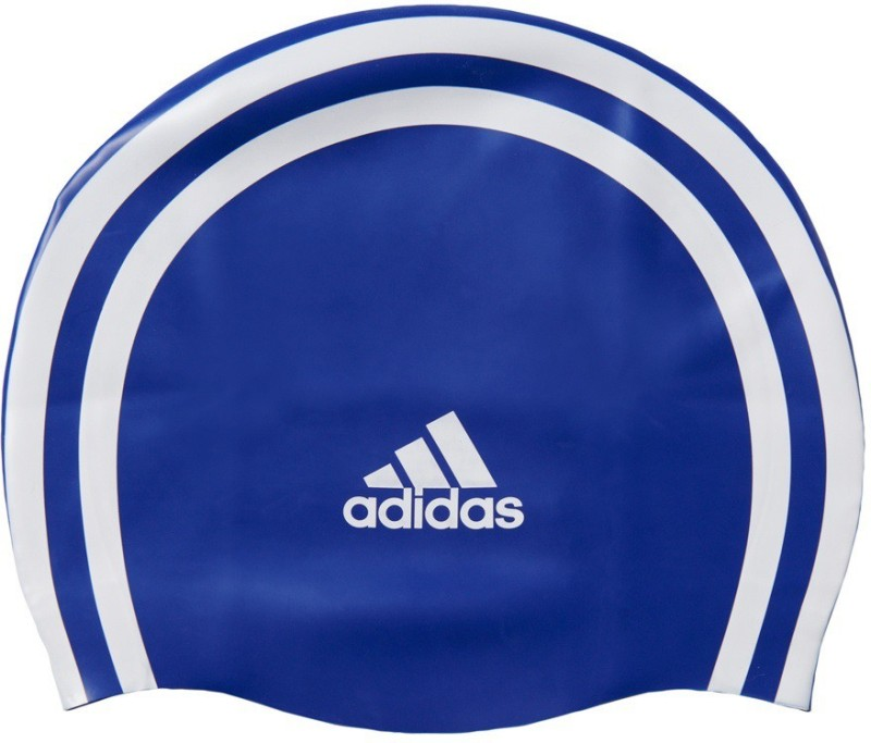ADIDAS SIL 3STR CP Swimming Cap(Blue, Pack of 1)